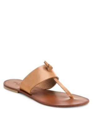 Nice Leather Thong Sandals
