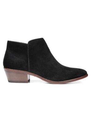 Petty Low-Cut Suede Ankle Boots