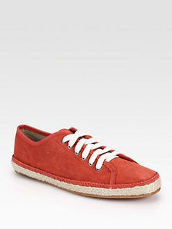 Rag & Bone - Baylor Suede Lace-Up Sneakers