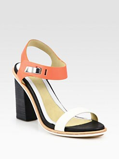 Rag & Bone - Arlo Leather Ankle Strap Sandals