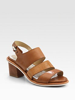 Rag & Bone - Folsom Snake-Print Leather Sandals