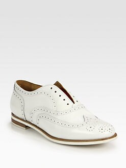 Rag & Bone - Leather Wingtip Laceless Brogue