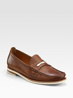 Rag & Bone - Bicolor Leather Loafers