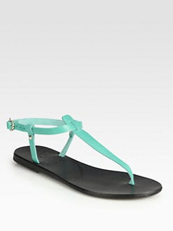Ancient Greek Sandals - Lito Leather T-Strap Sandals