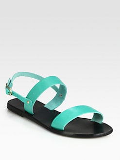 Ancient Greek Sandals - Clio Leather Sandals