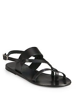 Ancient Greek Sandals - Alethea Leather Sandals