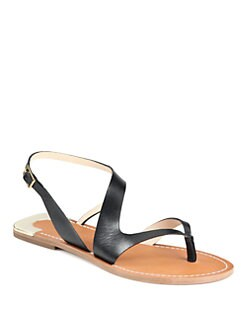 Diane von Furstenberg - Daphne Leather Sandals