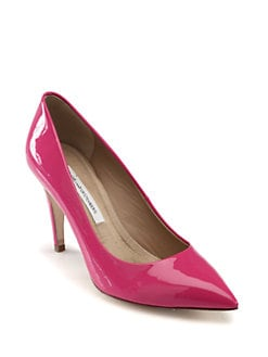 Diane von Furstenberg - Annette Patent Leather Pumps