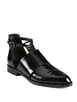 Alexander Wang - Lyoka Leather Cutout Oxfords