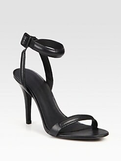 Alexander Wang - Antonia Leather Ankle Strap Sandals