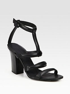 Alexander Wang - Anjelika Leather Ankle Strap Sandals