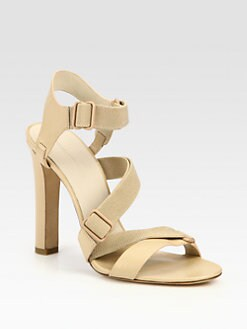 Alexander Wang - Cintia Crisscross Leather Sandals