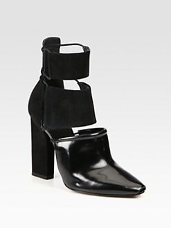 Alexander Wang - Mackenzie Leather & Suede Ankle Boots