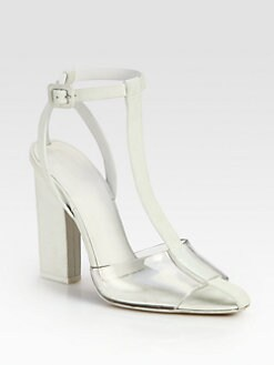 Alexander Wang - Agata Leather T-Strap Sandals