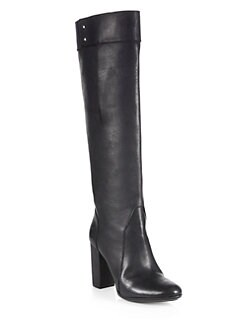3.1 Phillip Lim - Moss Leather Knee-High Boots
