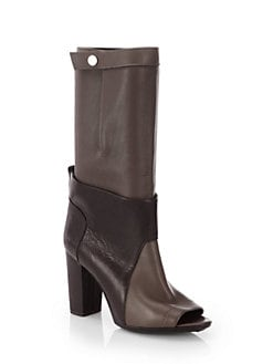 3.1 Phillip Lim - Issa Leather Mid-Calf Boots