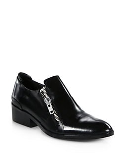 3.1 Phillip Lim - Alexa Polished Leather Oxfords