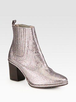 Opening Ceremony - Brenda Glitter Ankle Boots