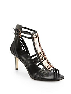 Sigerson Morrison - Kiki Leather Gladiator Sandals
