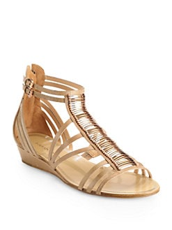 Sigerson Morrison - Tiffany Leather Gladiator Sandals