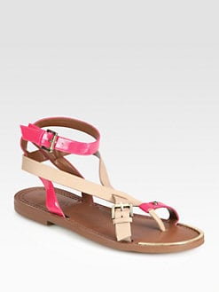 Boutique 9 - Pyralis Leather & Patent Leather Strappy Sandals