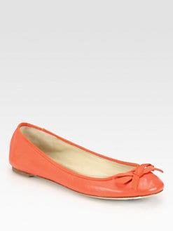Vera Wang Lavender Label - Laetitia Leather Ballet Flats