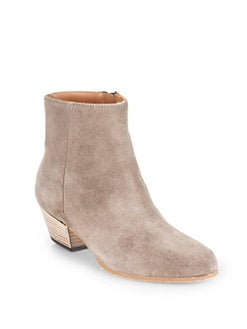 WOMAN BY COMMON PROJECTS - Suede Ankle Boots