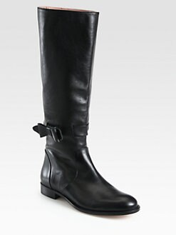 RED Valentino - Tall Leather Boots