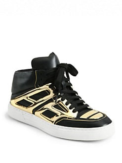 Alejandro Ingelmo - Tron Leather Lace-Up Sneakers