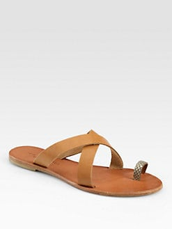 Joie - Roque Leather Sandals