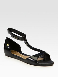 Melissa - PVC T-Strap Sandals