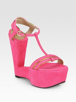 SW1 - Levity Suede Wedge Sandals