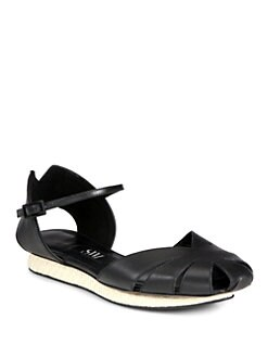SW1 - Taco Leather Mary Jane Sandals