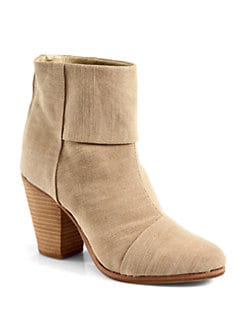 Rag & Bone - Classic Newbury Canvas Ankle Boots