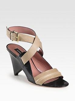 Derek Lam - Pace Leather Ankle Strap Sandals
