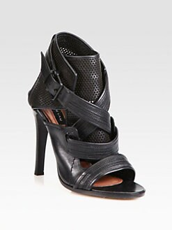 Derek Lam - Beau Perforated Leather Sandals