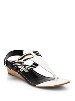 Diane von Furstenberg - Darling Mini Wedge Sandals