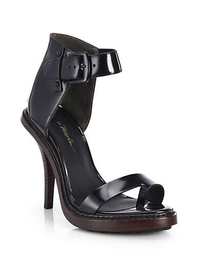Isabela Leather High-Heel Sandals