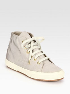 THE ROW FOR SUPERGA - Silk Faille High-Top Sneakers