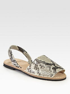 Ishvara - Python Slingback Sandals