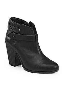 Rag & Bone - Harrow Leather Ankle Boots