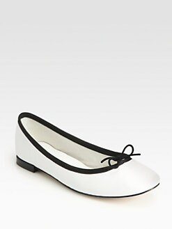 Repetto - Cendrillon Leather Ballet Flats