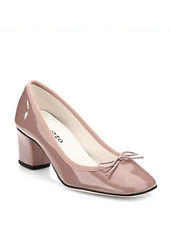 Repetto - Patent Leather Bow Pumps