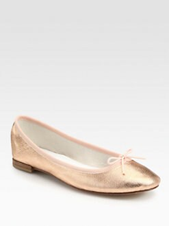 Repetto - Metallic Ballet Flats