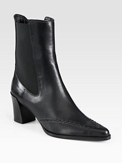 Derek Lam - Rocco Leather Chelsea Ankle Boots