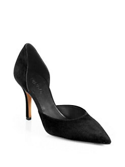 Vince - Celeste Suede d'Orsay Pumps