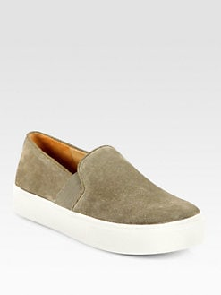 Vince - Blair Suede Slip-On Sneakers