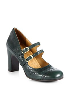 Chie Mihara - Francis Leather Mary Jane Pumps