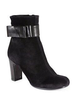 Chie Mihara - Friend Suede & Leather Ankle Boots