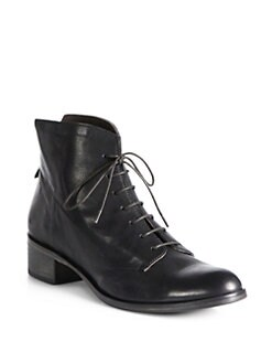 Coclico - Urbano Leather Lace-Up Ankle Boots
